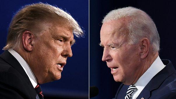 Trump anunció este jueves que no asistiría al debate si este se celebraba en formato virtual.