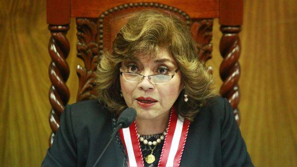 Fiscal de la Nación, Zoraida Avalos declaró compleja investigación preliminar a exministra de Cultura, Patricia Balbuena por caso