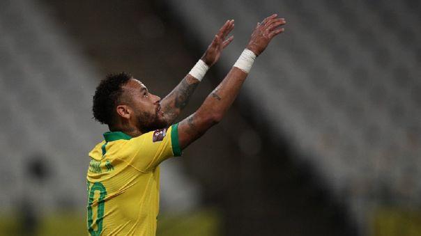 Neymar dio dos asistencias en el Brasil vs. Bolivia