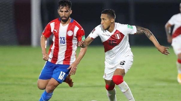 Christofer Gonzales reemplazó a Raúl Ruidíaz ante Paraguay
