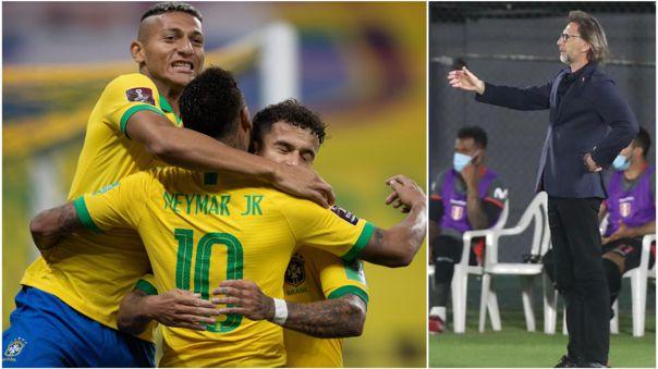Perú enfrentará a Brasil en la segunda fecha de las Eliminatorias