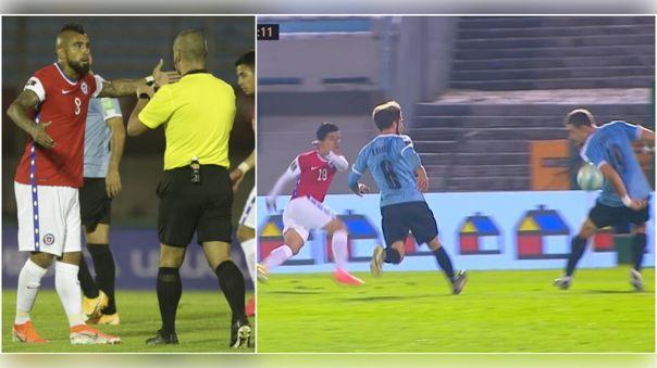 Uruguay derrotó 2-1 a Chile en Montevideo