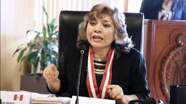 La fiscal de la Nación descartó que haya un conflicto de intereses y por ello no se inhibirá de la investigación que seguirá al presidente Martín Vizcarra.
