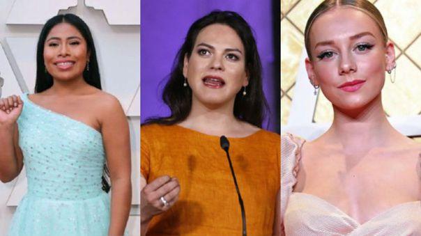 Yalitza Aparicio, Daniela Vega y Ester Expósito