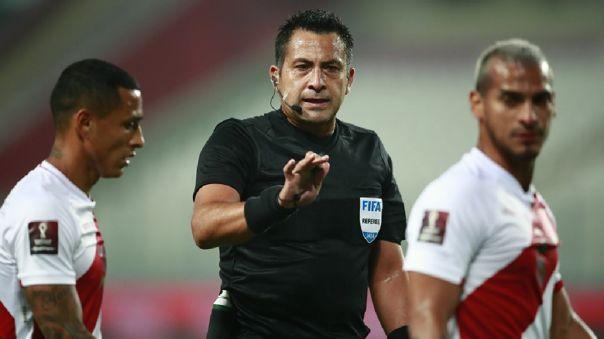 Julio Bascuñán fue el árbitro del partido entre Perú y Brasil