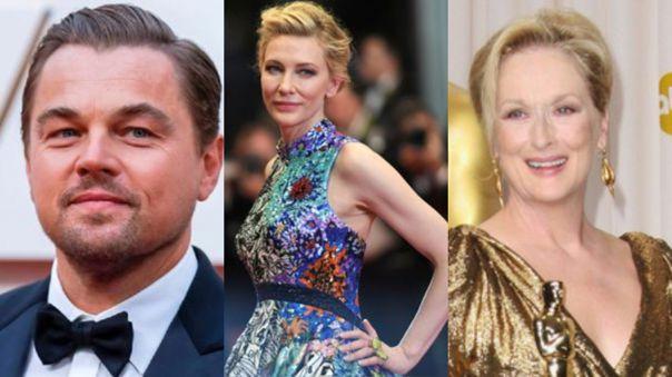 Leonardo DiCaprio, Cate Blanchett y Meryl Streep