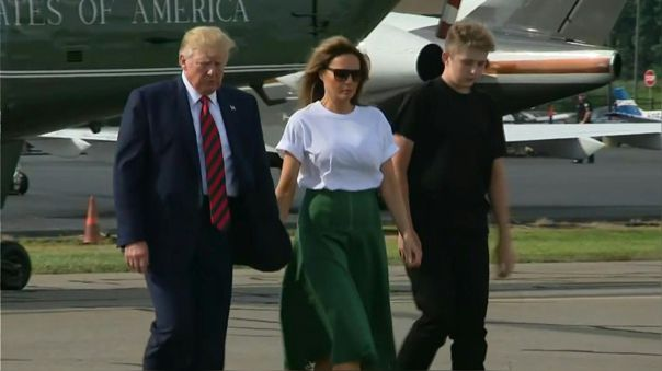 La información fue confirmada por la primera dama de Estados Unidos.