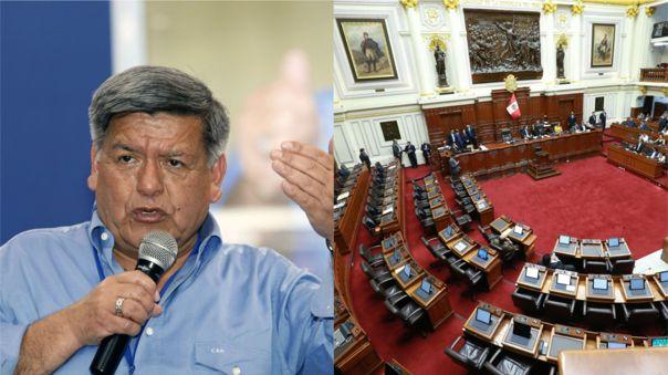 El político saludó la decisión de la JNE sobre la no reelección de congresistas.