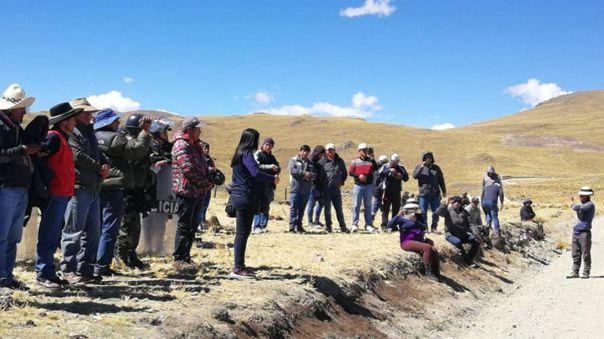 Protestas en Chumbivilcas