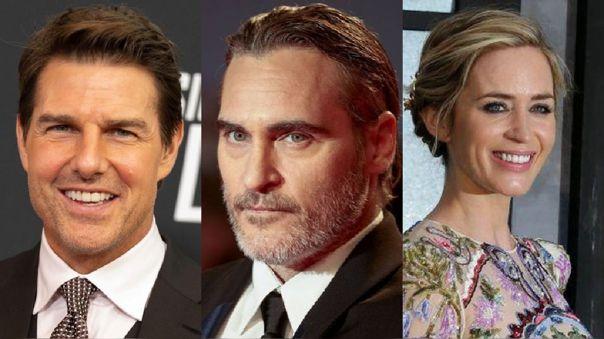 Tom Cruise, Joaquin Phoenix y Emily Blunt