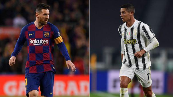 Lionel Messi y Cristiano Ronaldo, candidatos al Balón de Oro Dream Team de todos los tiempos