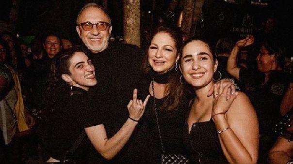 Gloria, Emilio y Emily Estefan