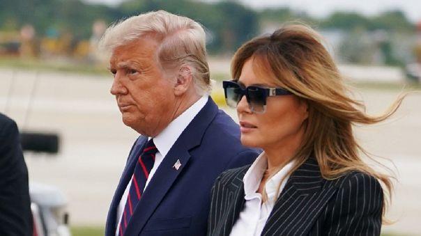 Melania Trump tenía previsto participar junto a su marido, el presidente Donald Trump, en un mitin este martes.