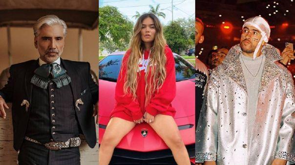 Bad Bunny, Karol G y Alejandro Fernández actuarán en los Latin Grammy 2020