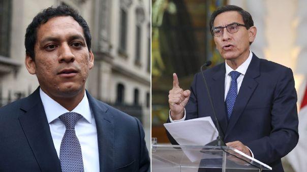Vicepresidente del Congreso cuestionó a Vizcarra.