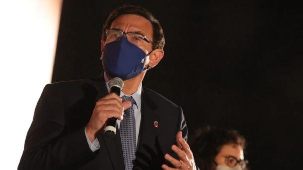 Martín Vizcarra participó en varias actividades en Loreto.