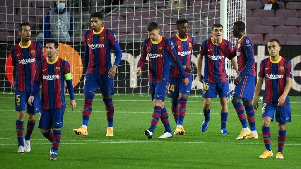 Barcelona venció este martes al Ferencváros por la Champions League