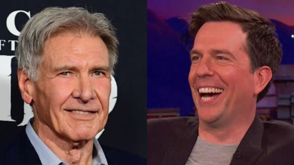 Harrison Ford y Ed Helms