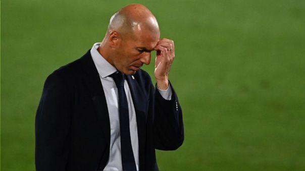 Zidane perdió su invicto en la temporada al caer ante el Cádiz por LaLiga