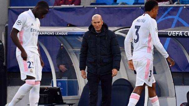 Zinedine Zidane ganó tres Champions League como DT del Real Madrid
