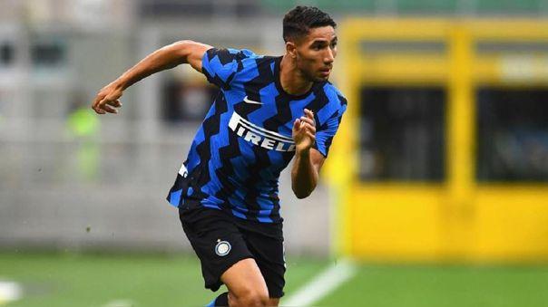 Achraf Hakimi llegó en 2020 al Inter de Milán