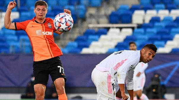 Real Madrid vs. Shakhtar Donetsk