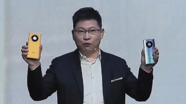 Richard Yu tomó el escenario para presentar lo último de Huawei.