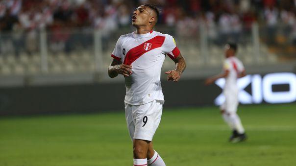 Paolo Guerrero se perdió el inicio de las Eliminatorias Qatar 2022