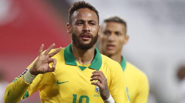 Neymar tiene 3 goles en las Eliminatorias Qatar 2022