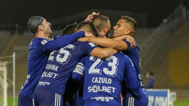 Jorge Cazulo marcó de cabeza el gol de la victoria de Sporting Cristal ante Cienciano