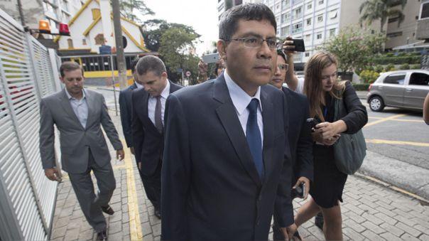 Fiscal Germán Juárez declaró