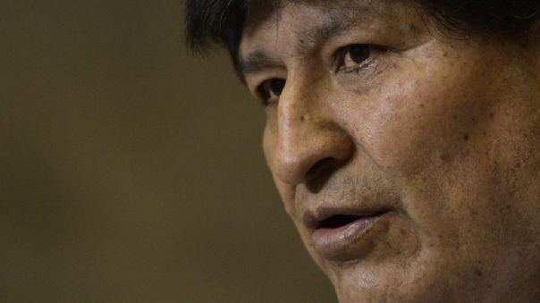 Evo Morales se encontraba refugiado en Argentina.