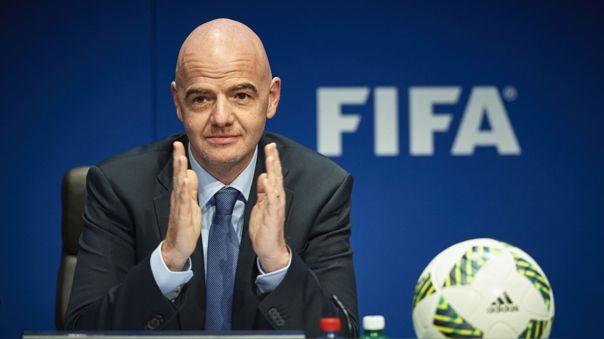 Gianni Infantino es presidente de FIFA desde el 2016