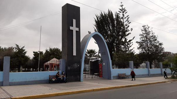 La Apacheta, cementerio