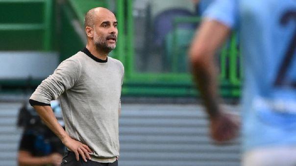 Pep Guardiola dirige al Manchester City desde el 2016