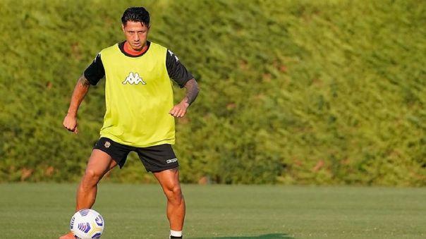 Gianluca Lapdula fue convocado por primera vez a la Selección Peruana