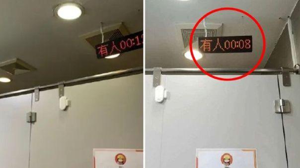 Las imágenes se difundieron por la red social Weibo.