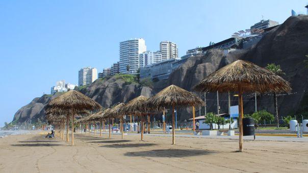 Las ocho playas del distrito fueron certificadas como saludables.