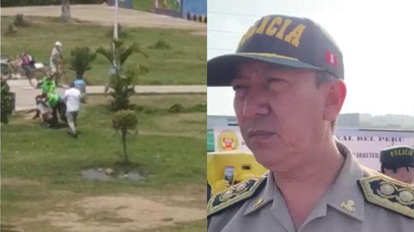 El general PNP Jorge Lam dijo que los domingo se realizan patrullajes conjuntos entre la Policía Nacional y las Fuerzas Armadas.