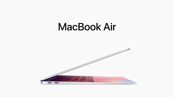Apple presenta su nueva MacBook Air con Apple Silicon M1