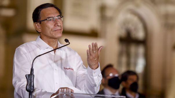 El congreso vacó a Martín Vizcarra este último lunes con 105 votos a favor.