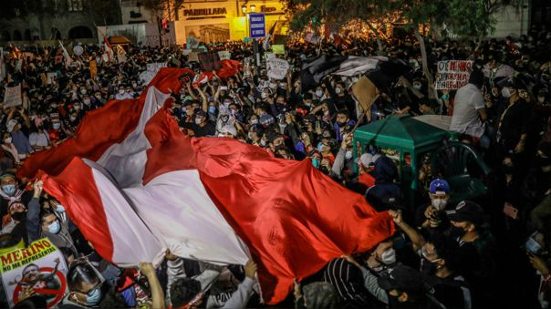 PERU GOVERNMENT PROTEST