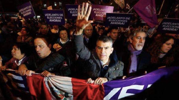 Francisco Sagasti asume la presidencia de la República tras la renuncia de Manuel Merino, es parte del Partido Morado y participó en procesos electorales junto a Julio Guzmán