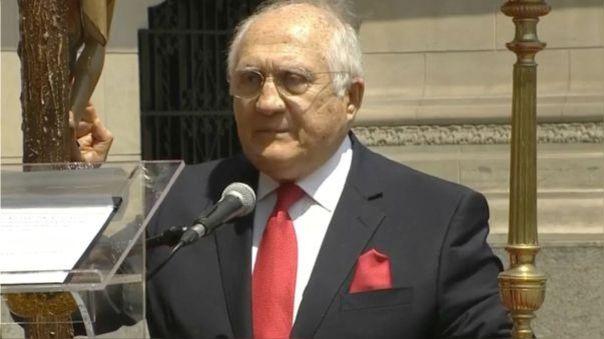 El jueves 12 de noviembre pasado, Fernando D´Alessio prestó juramento en una ceremonia realizada en Palacio de Gobierno.