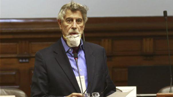 Francisco Sagasti, congresista del Partido Morado.