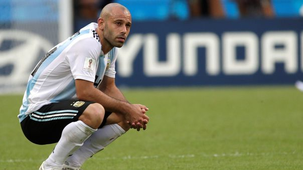 Javier Mascherano le dijo adiós al fútbol profesional