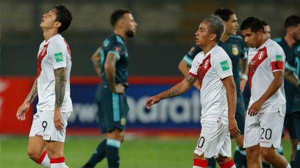 Perú no sumó puntos en sus últimos partidos de las Eliminatorias