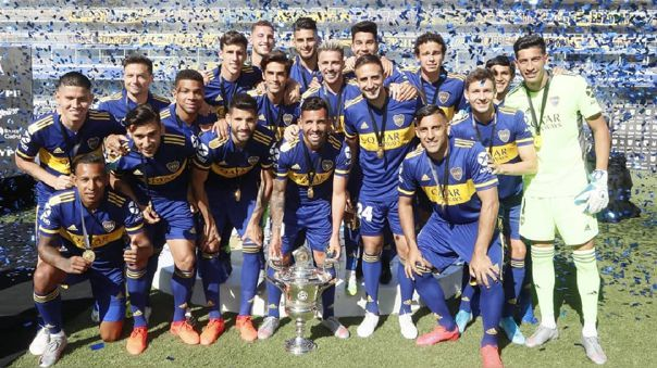 Boca Juniros fue el campeón de la Superliga Argentina 2020
