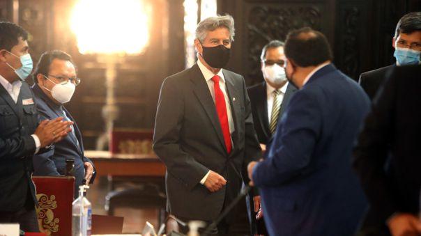 Mandatario sostuvo reunión de trabajo con gobernadores regionales.