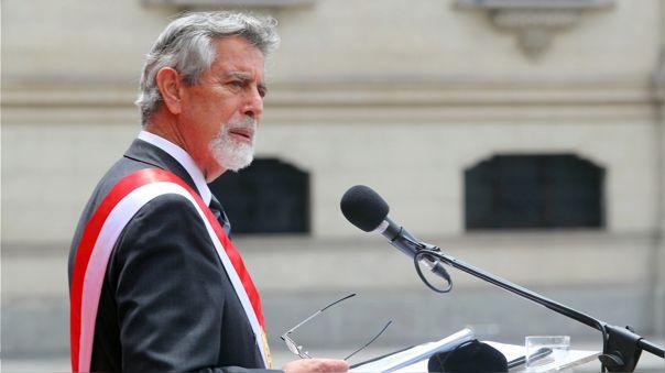 Francisco Sagasti descartó segunda urna por una nueva Constitución